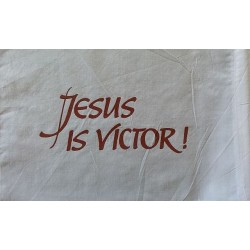 Banner of Faith - Jesus is...