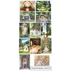 Canaan Postcards - Set of 12