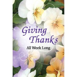 Giving Thanks all Week long